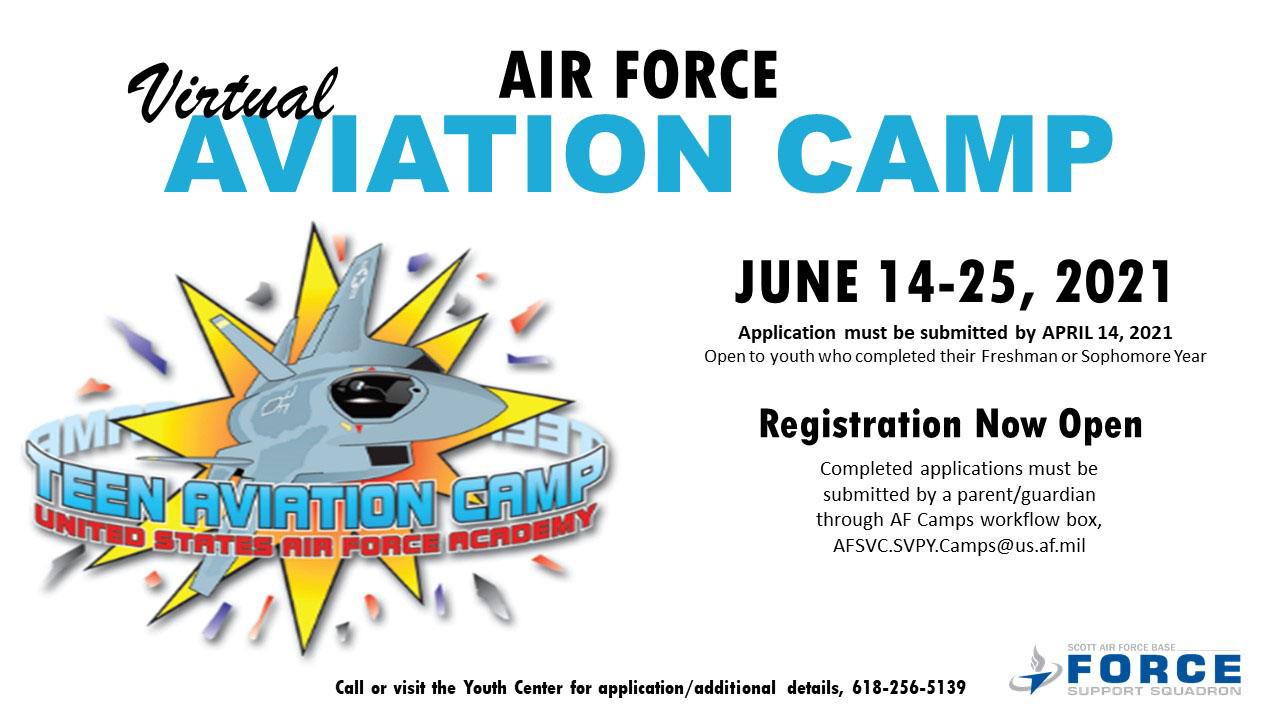 Air Force Teen Virtual Aviation Camp