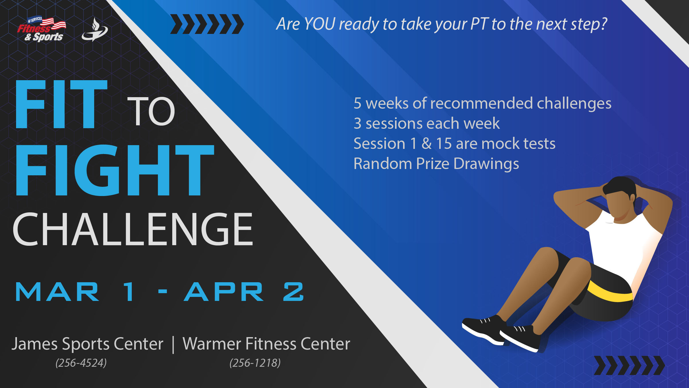 Fit to Fight Challenge