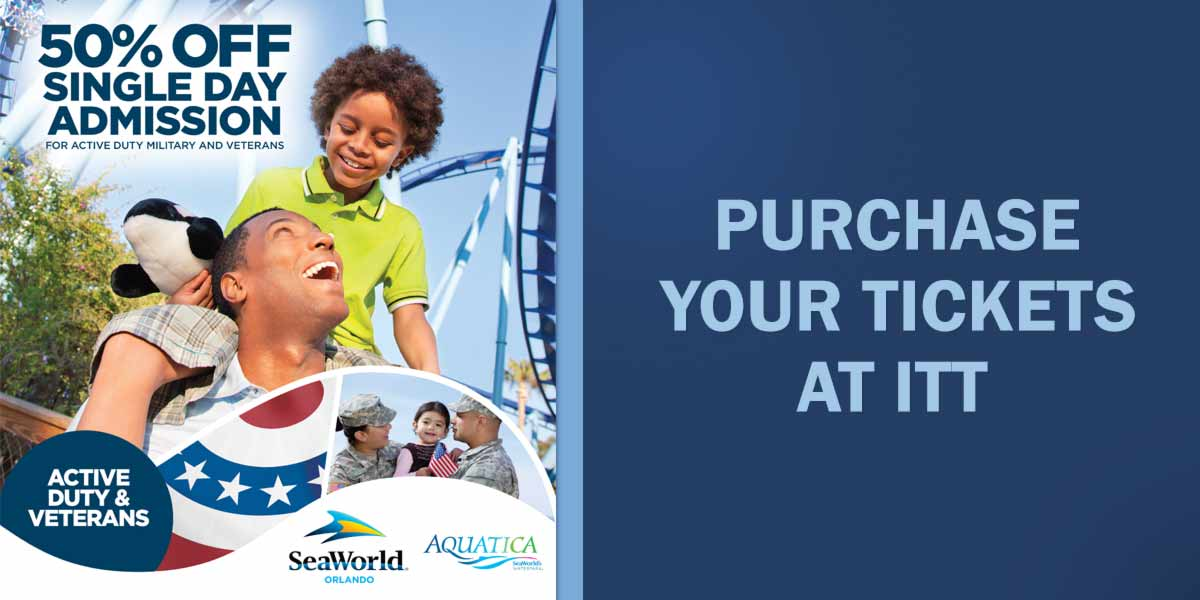 Charming Sea World Military Tickets Best Image Of 2017
