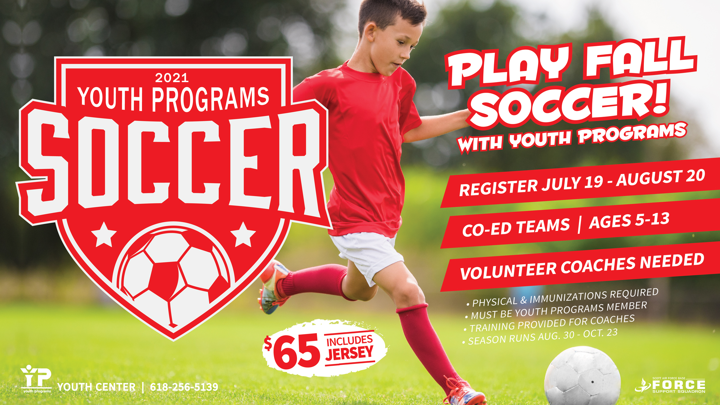 Youth Spring Soccer League
